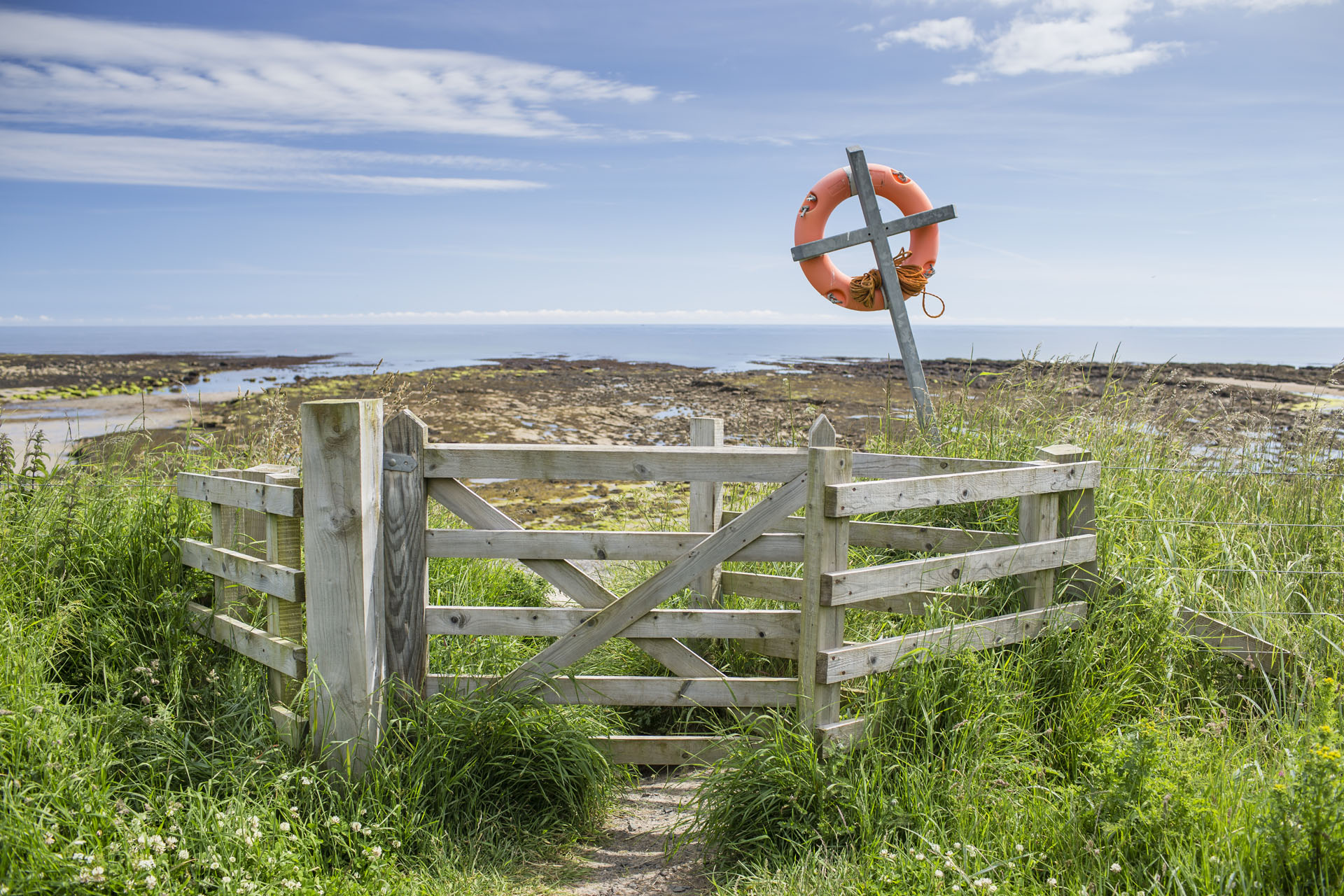 Beadnell Bay Campsite - Camping and Caravanning Club Site