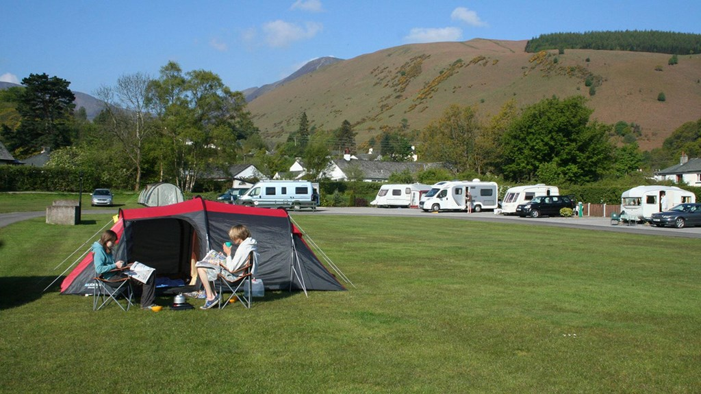 Braithwaite Village Club Site Campground in the Lake District