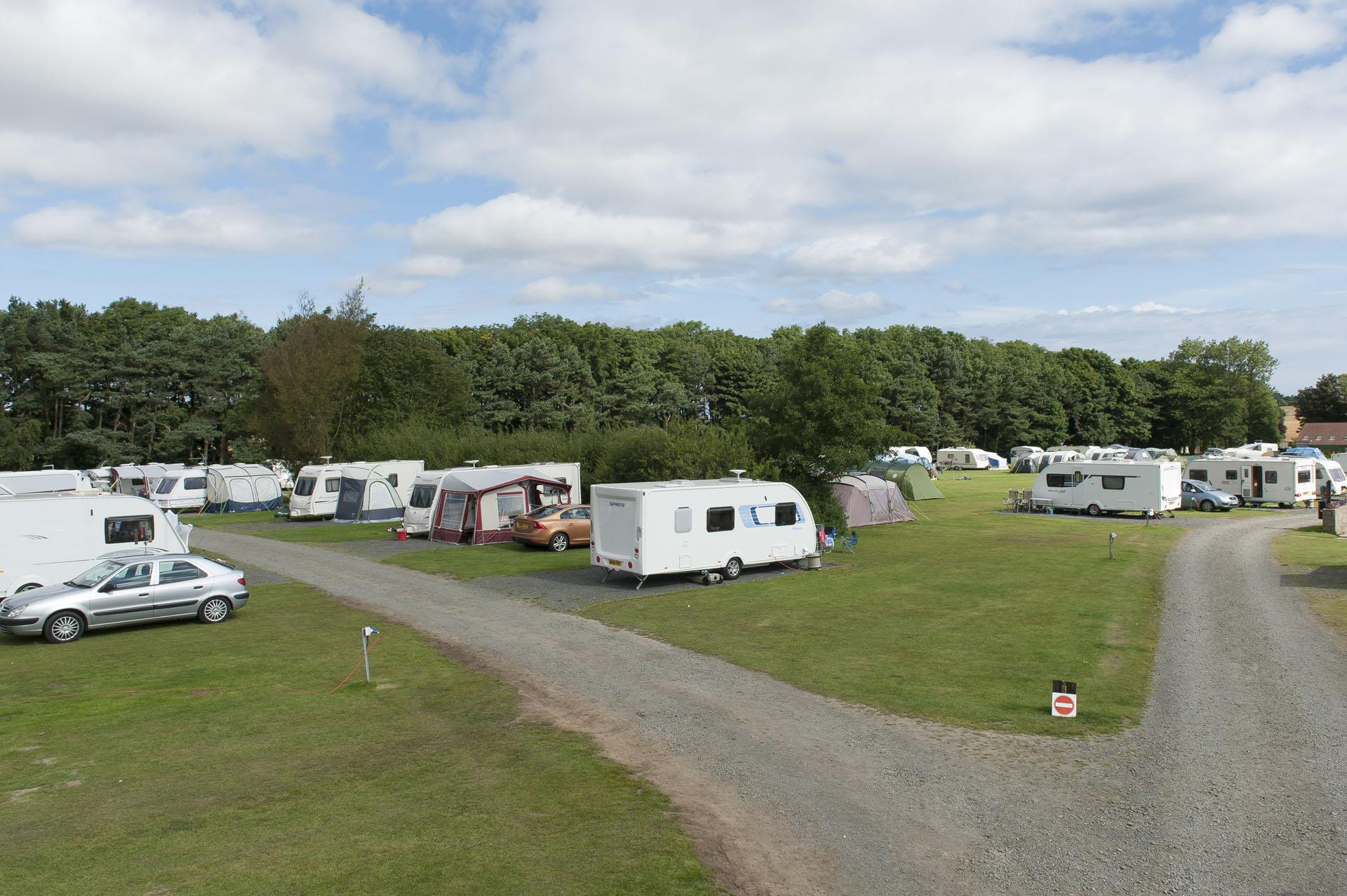 Dunstan Hill Campsite - Camping and Caravanning Club Site