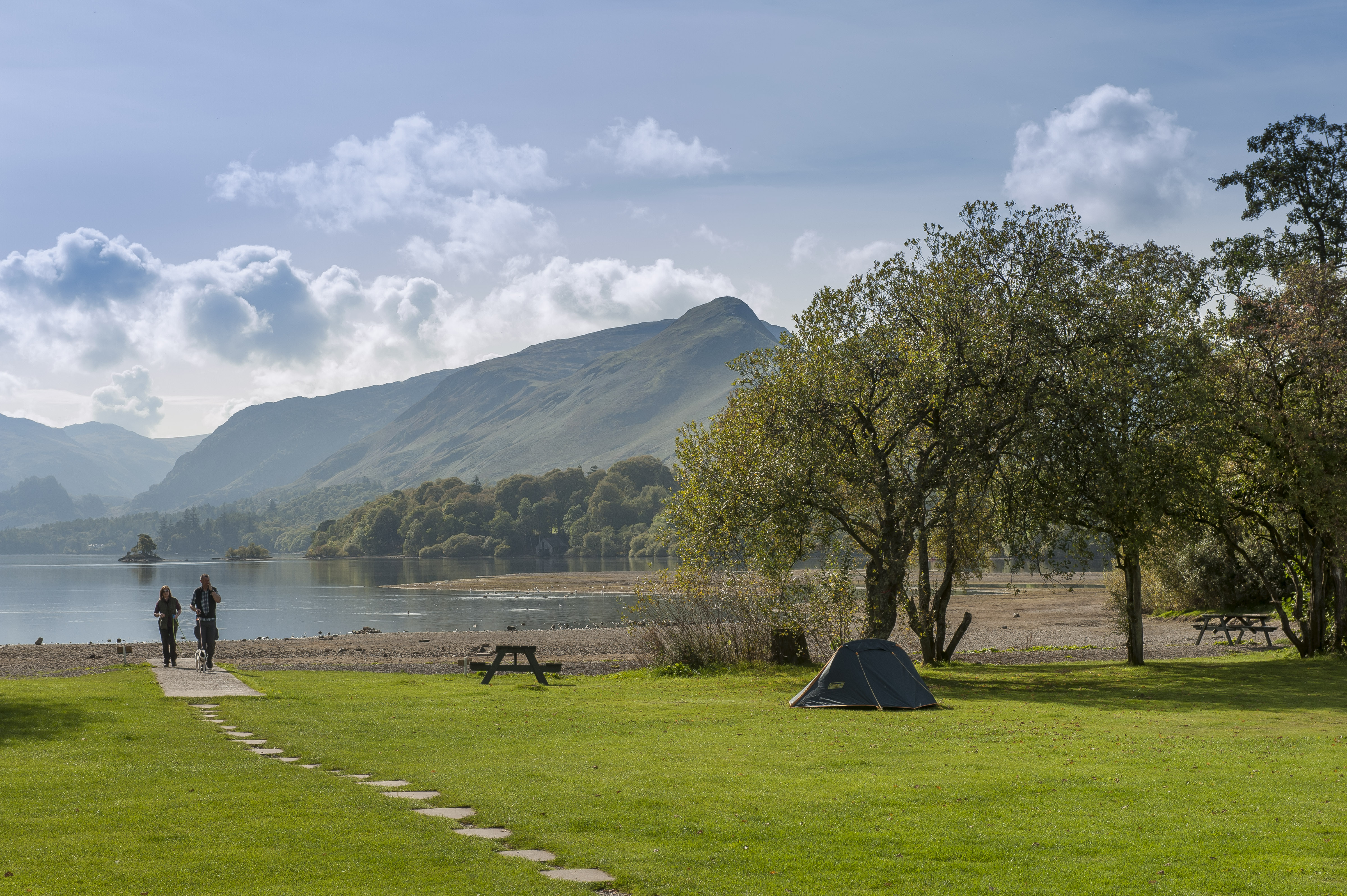Keswick Campsite - Camping and Caravanning Club Site - The