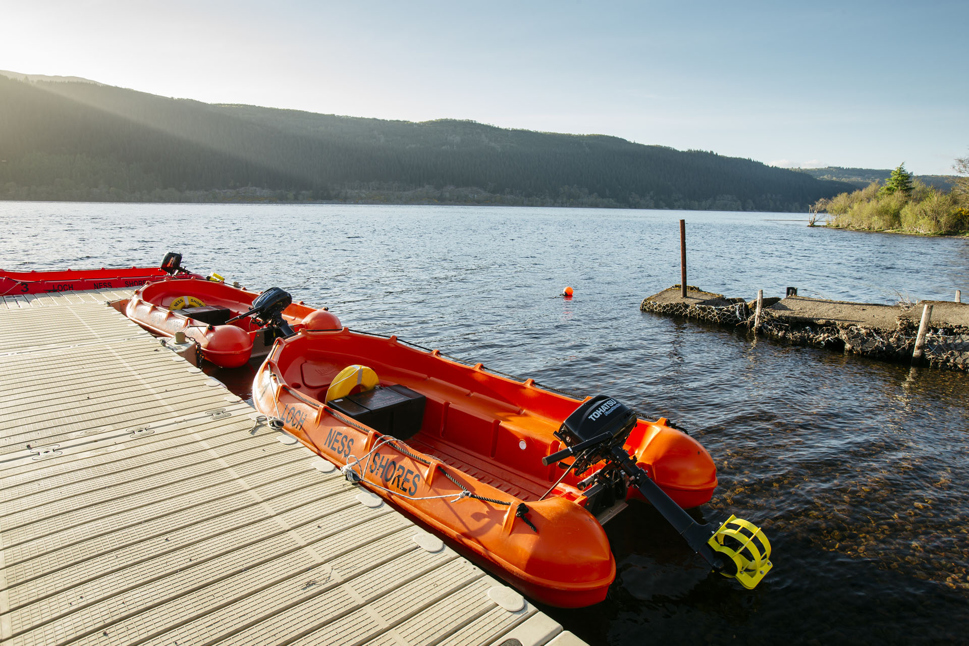Loch Ness Karte.Loch Ness Shores Camping And Caravanning Club Site The Camping
