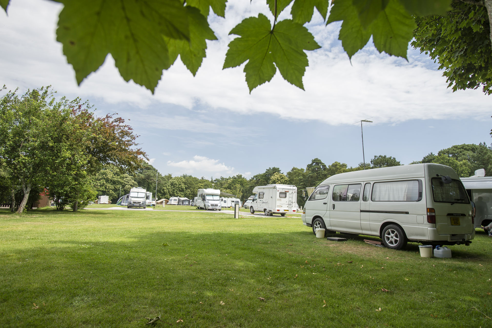Dingwall - Camping and Caravanning Club Site - The Camping