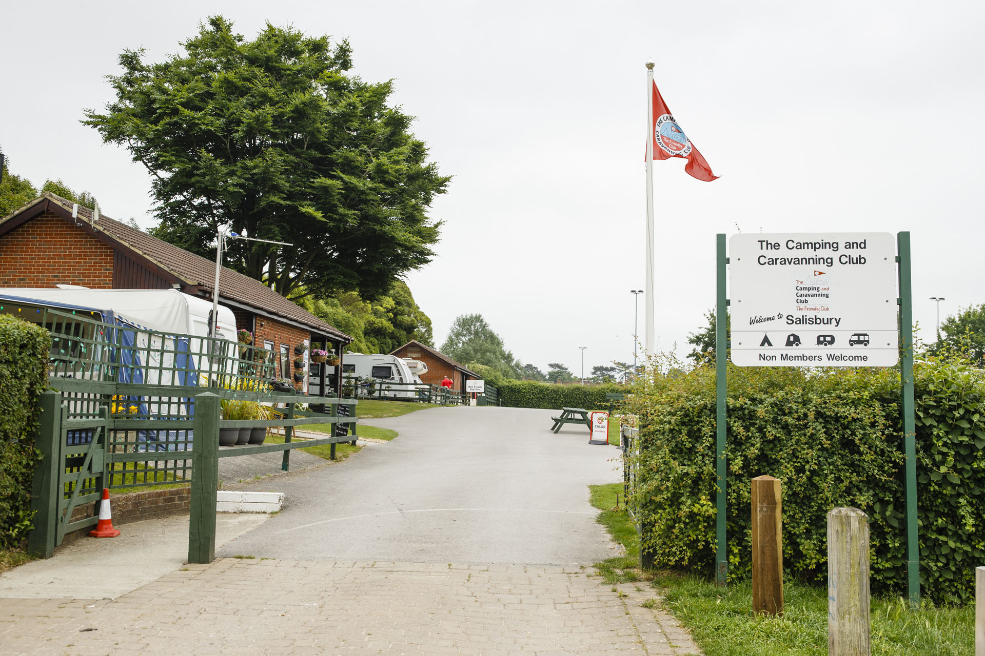 Salisbury - Camping and Caravanning Club Site - The Camping