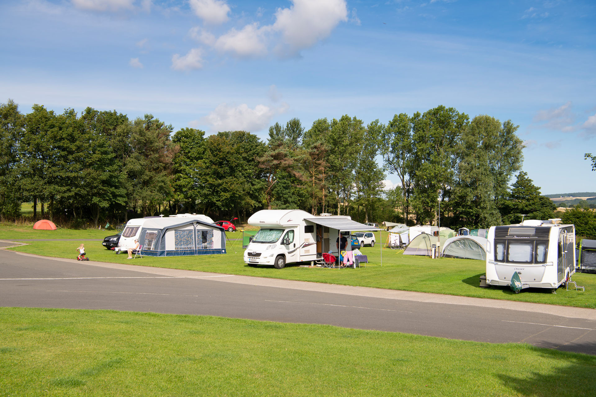 Jedburgh - Camping and Caravanning Club Site - The Camping