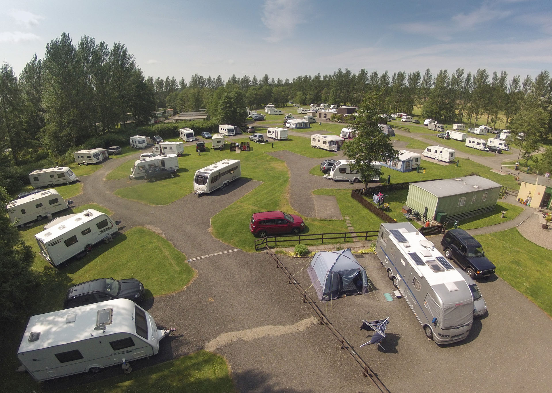Moreton - Camping and Caravanning Club Site - The Camping