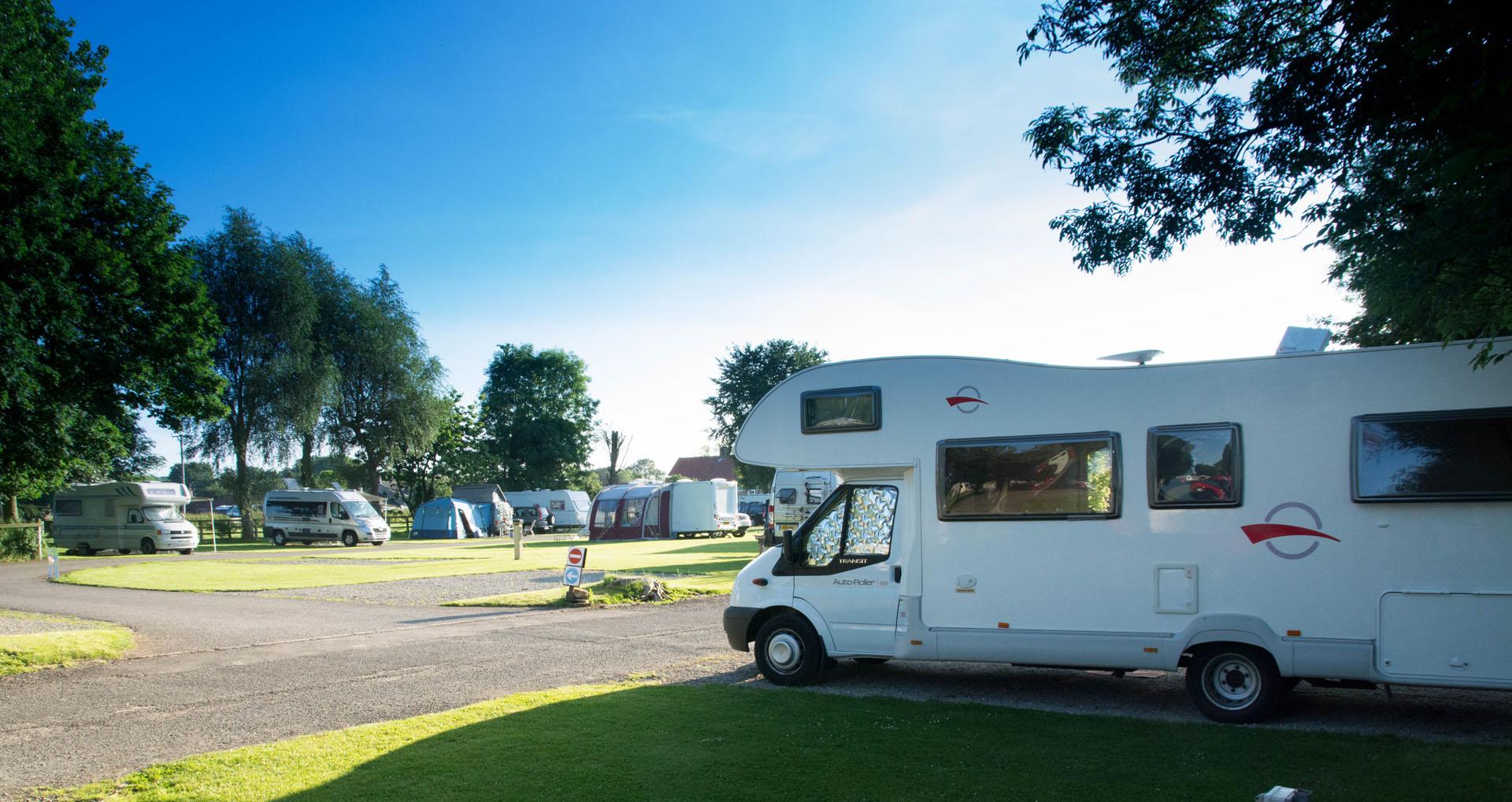 Devizes Camping and Caravanning Club Site, Melksham