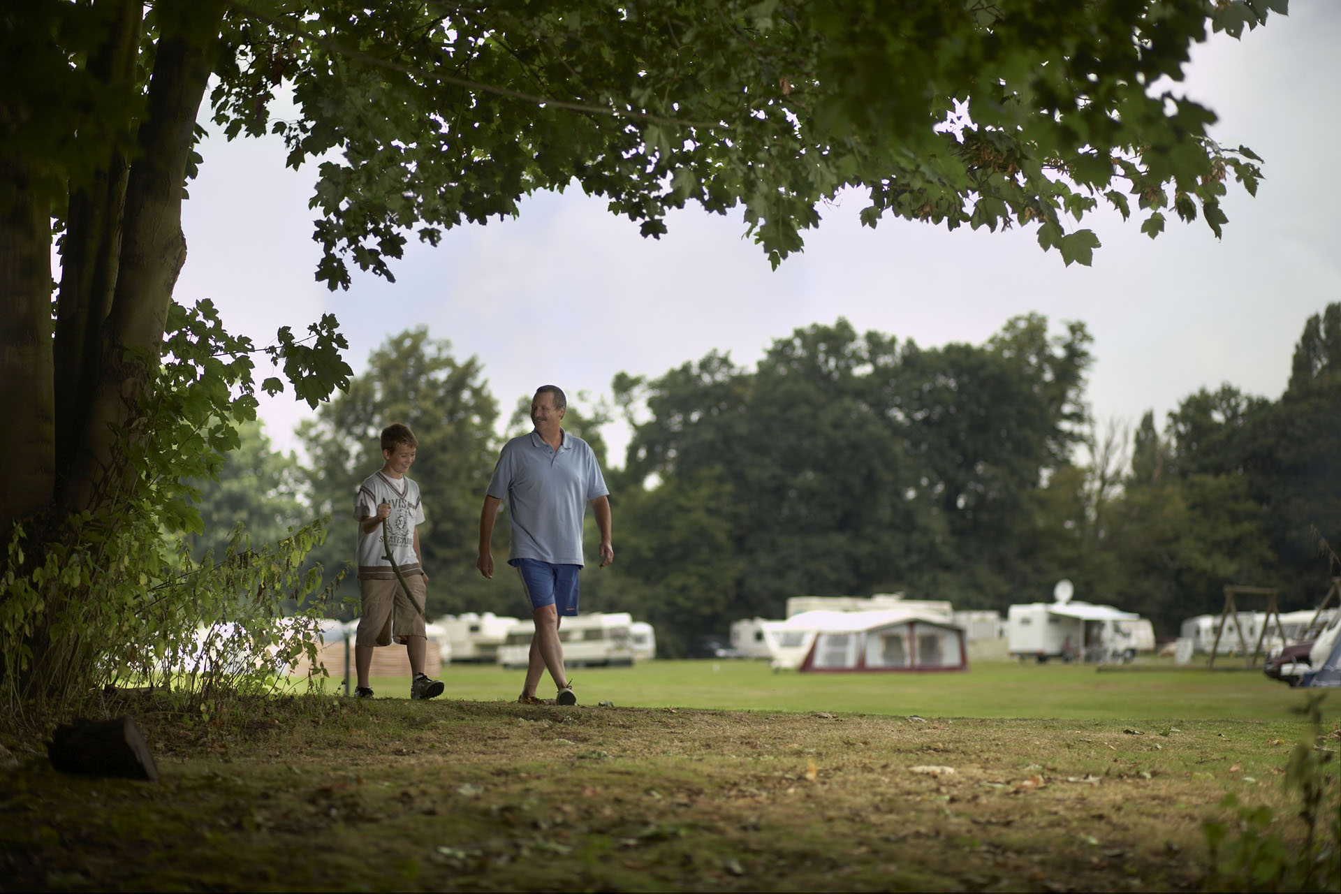 Theobalds Park - Camping and Caravanning Club Site - The