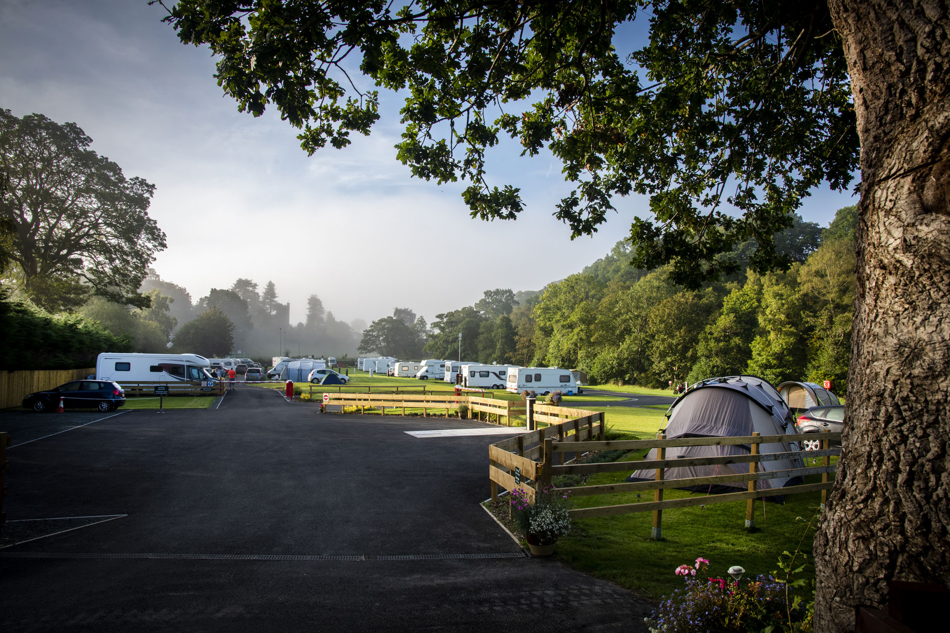 Windermere Campsite - Camping and Caravanning Club Site