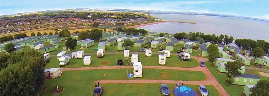 Tent pitches at St Andrews | Abbeyford