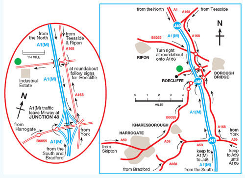 Location Map Boroughbridge 2011