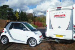 Towing with a Motorhome