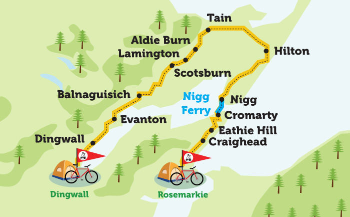 Dingwall to Rosemarkie