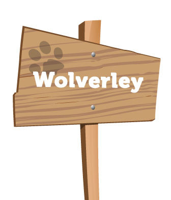 Wolverley signpost
