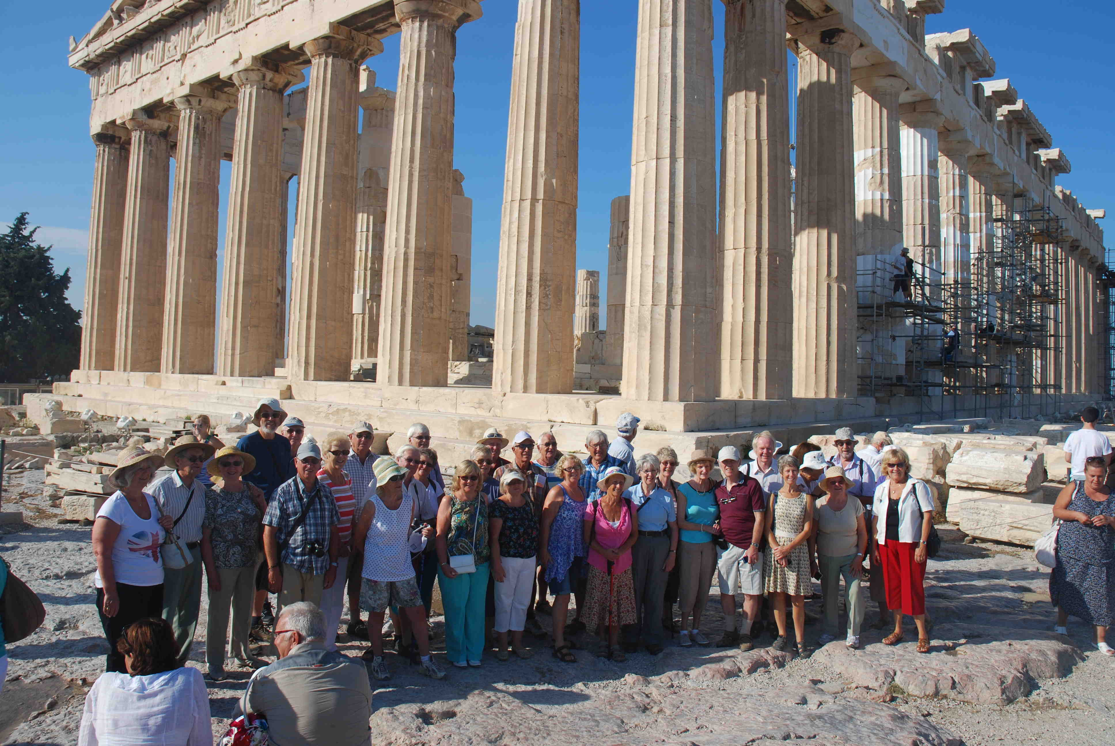 Excursion to Athens