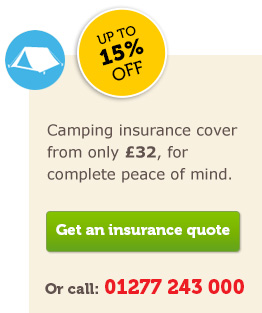 Camping insurance quote