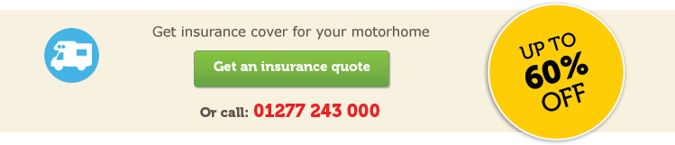 Motorhome insurance horizontal CTA