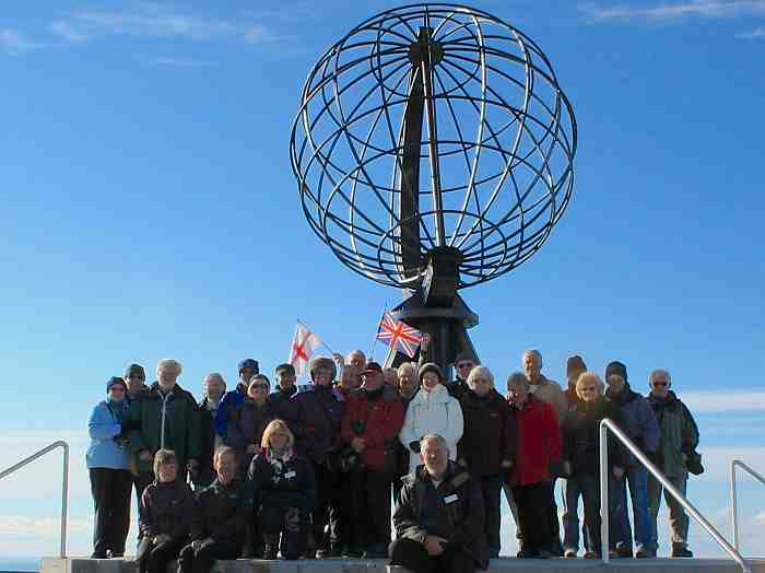 Group at North Cape