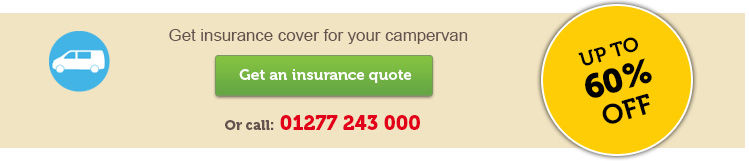 Campervan Insurance horizontal CTA