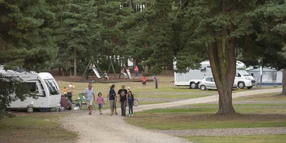Set in the Royal Sandringham Estate, Sandringham Campsite, Norfolk
