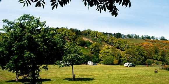 Lauder campsite, campsites in Scotland
