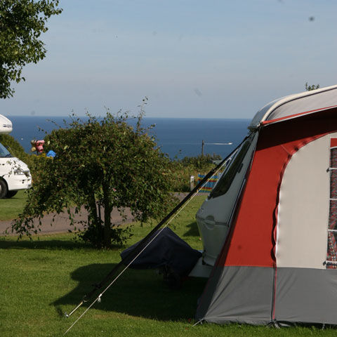 Beach Holiday at Dartmouth campsite, Devon