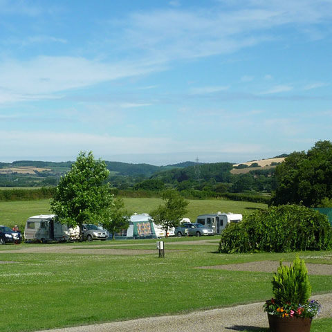 Umberliegh campsite, perfect for exploring north Devon