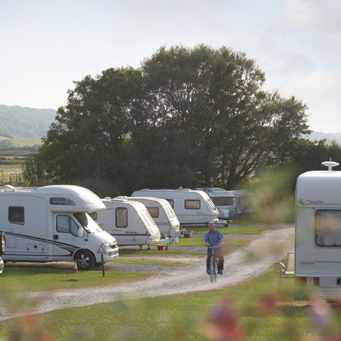 Beach holiday at Weston-super-Mare campsite, Somerset