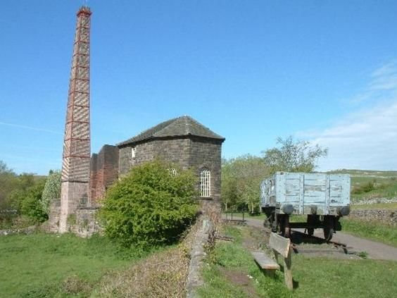 Engine House at Middleton Top. 