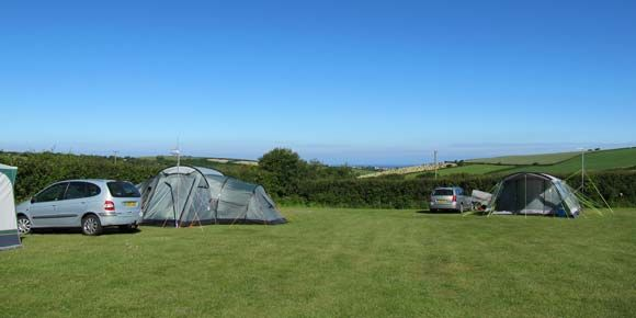 Beach holiday at Bude Campsite, Cornwall