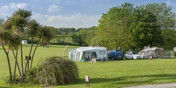 Activity holiday at Veryan Campsite, Cornwall