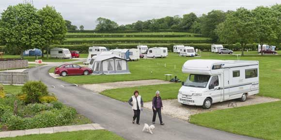 Sheriff Hutton, campsites in Yorkshire