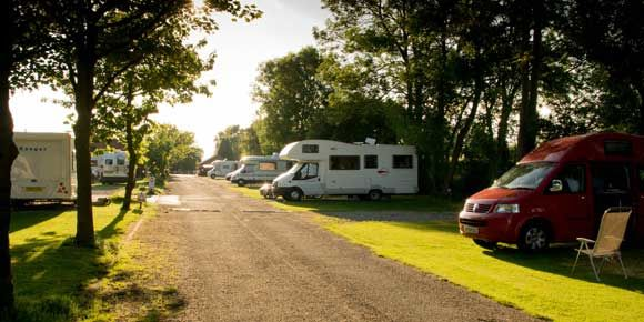 Slingsby, campsites in Yorkshire