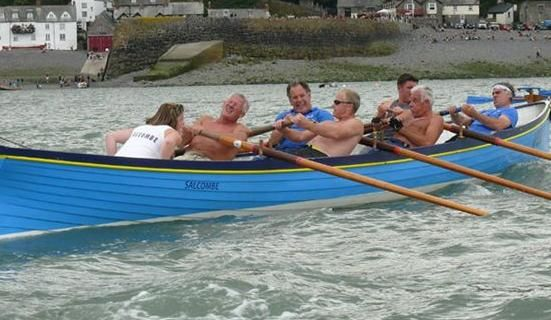 Gig racing at Clovelly