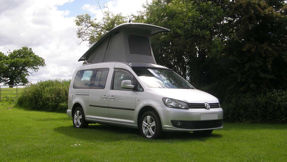 g p campervan conversions vw caddy the camping and. Black Bedroom Furniture Sets. Home Design Ideas