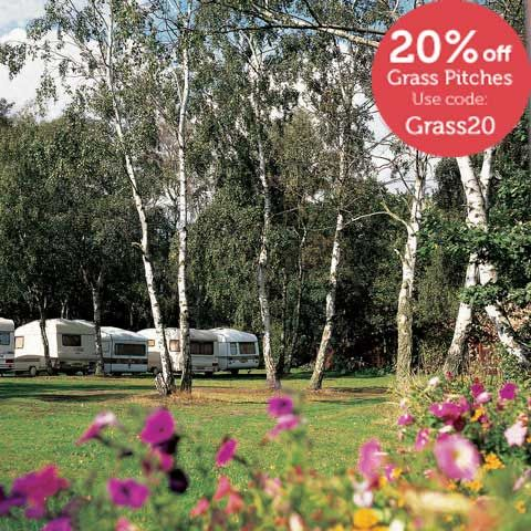 Woodhall Spa campsites, Lincolnshire