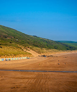 Beach at Woolacombe