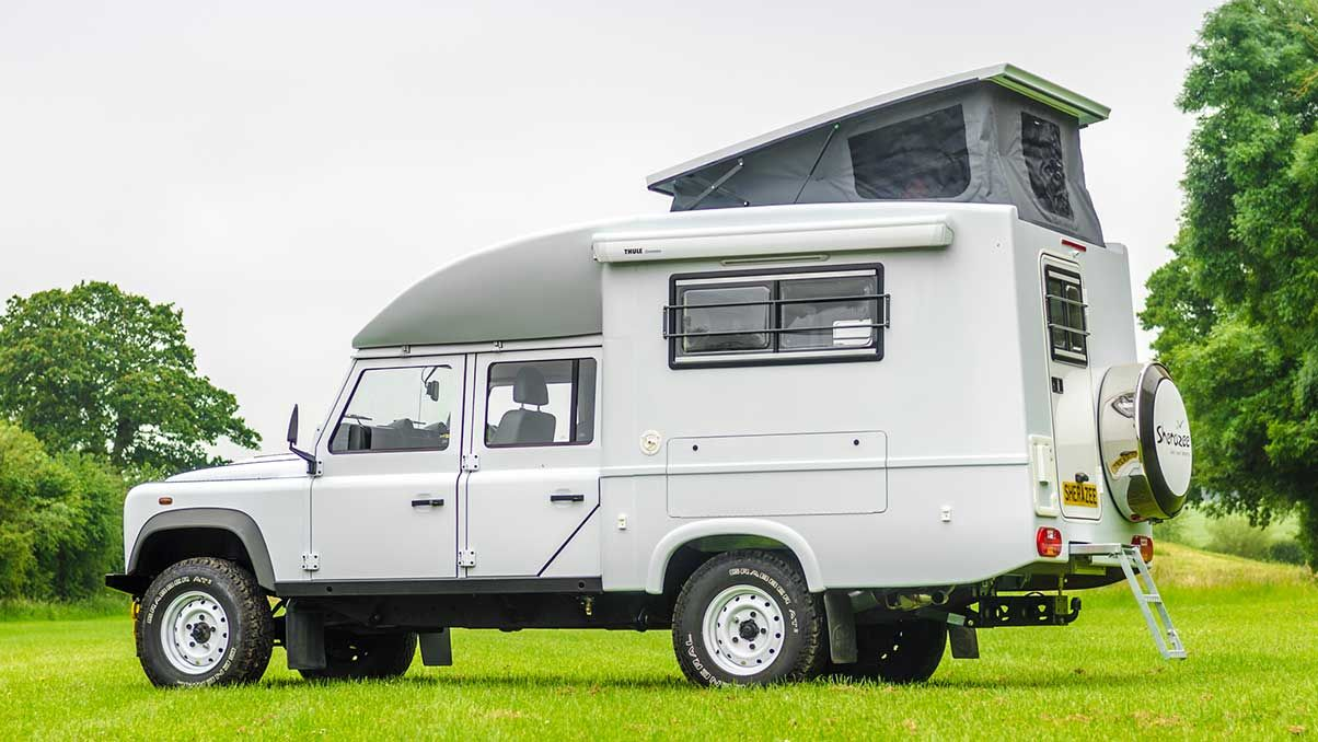 Footloose 4x4 Sherazee The Camping And Caravanning Club