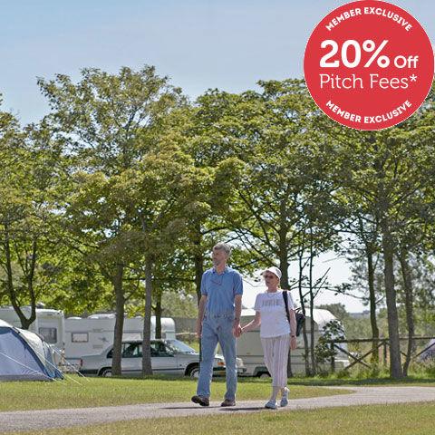 Scarborough, campsites in Yorkshire