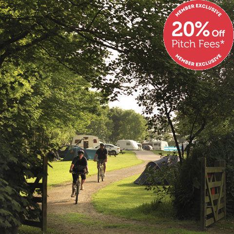 Activity holiday at Veryan Campsite, Cornwall