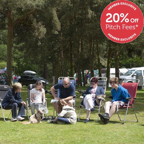 Set in the Royal Sandringham Estate, Sandringham Campsite, campsites in norfolk