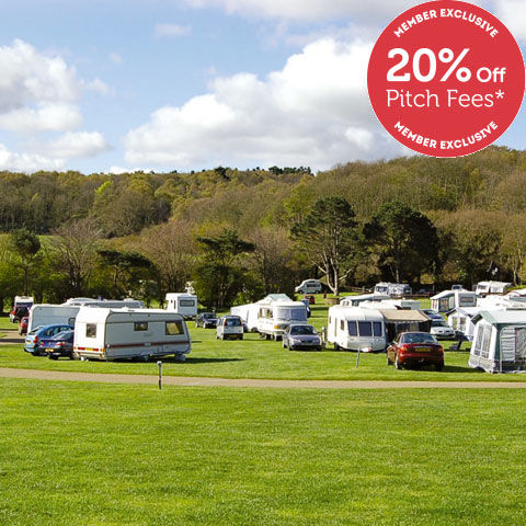 Perfect beach holiday at West Runton campsite, campsites in Norfolk