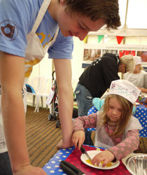 Children's cookery class