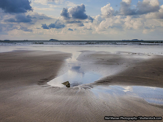 Whitesands beach, Wales