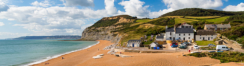 Seatown Beach, Dorset