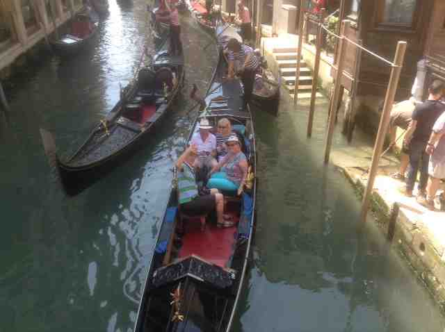 gondola ride in venice 2015