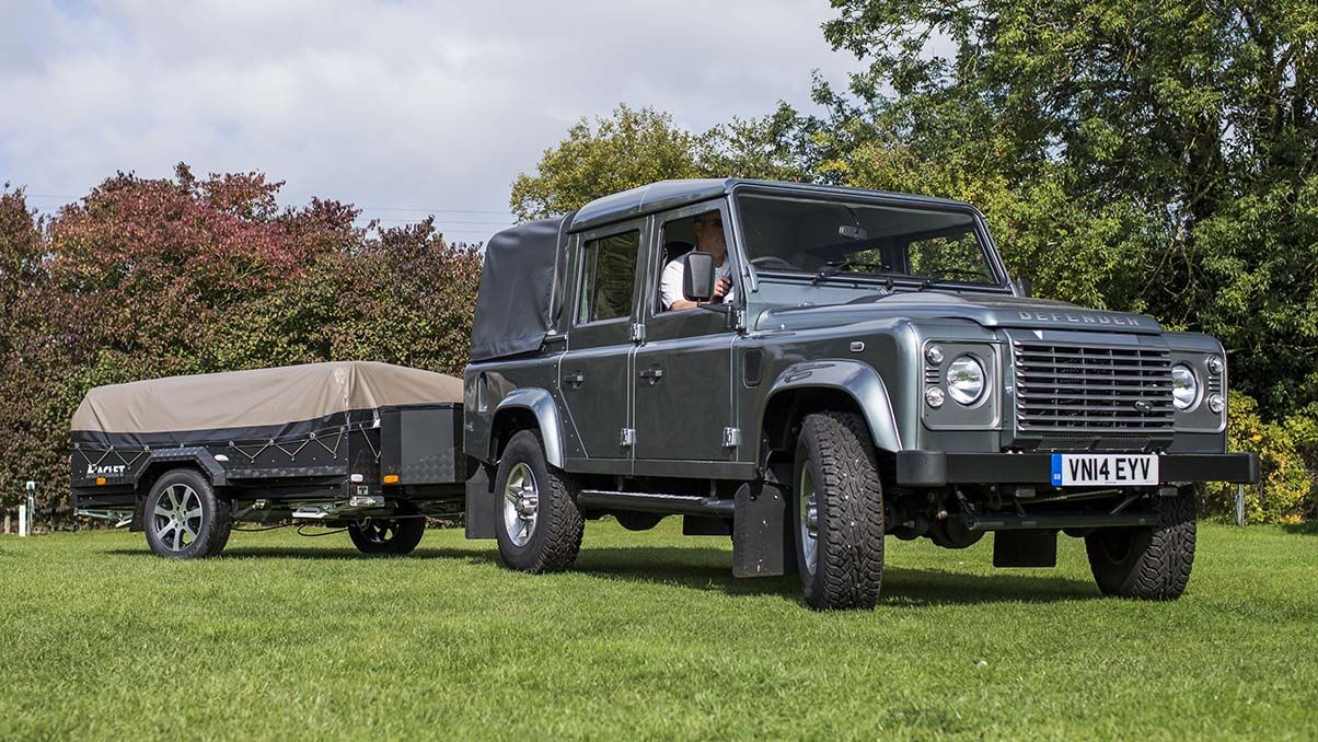 Land Rover Defender 110 Double Cab Pick Up The Camping And