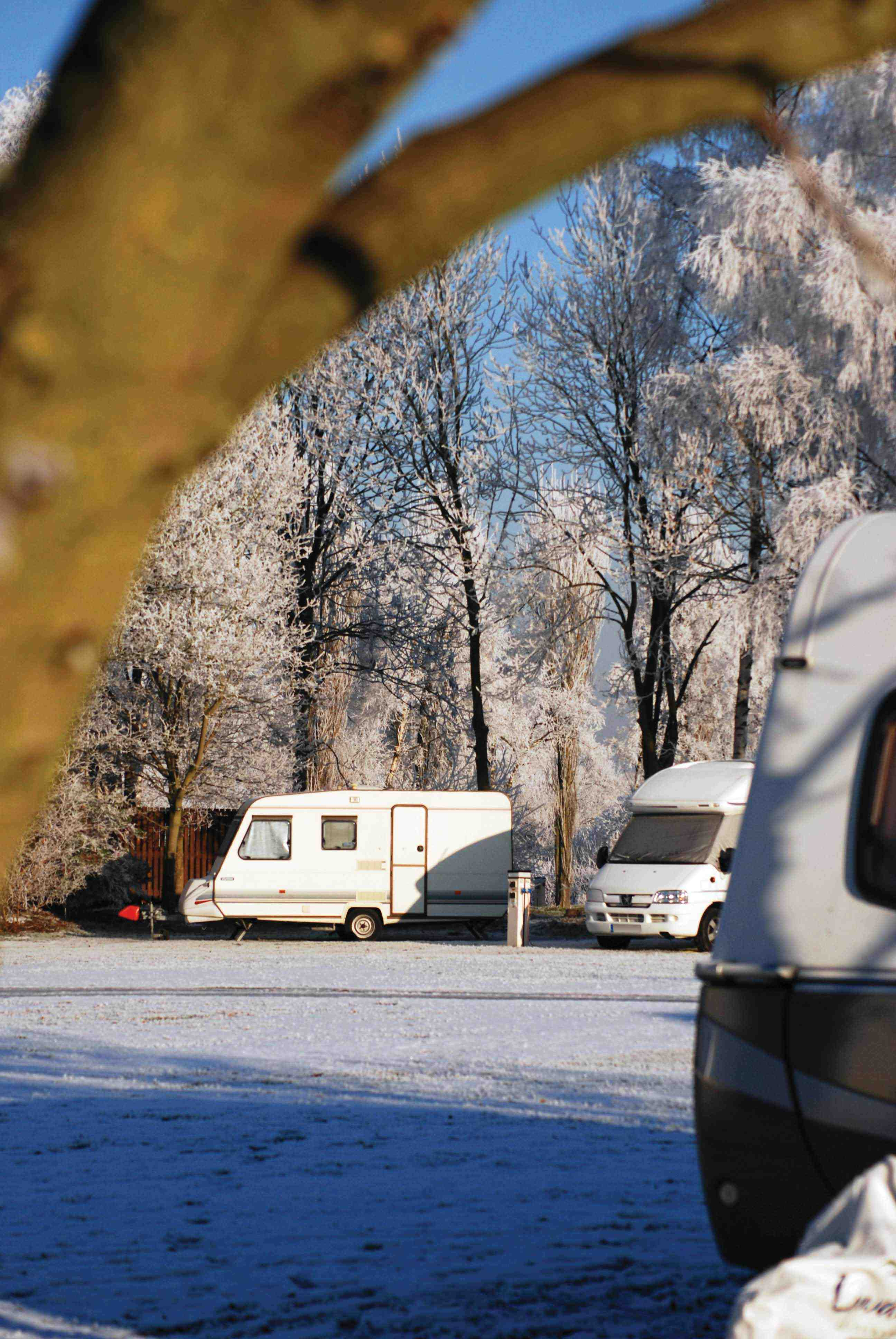 You don't need to store your unit away as many campsites are open all year