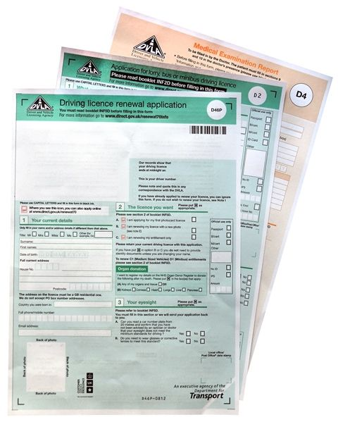 40 Driving Licences - The Camping and Caravanning Club