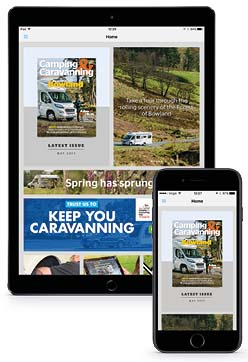 The Club's Camping Apps The Camping and Caravanning Club
