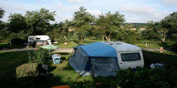Campsites Brittany; Bois de la Palud campsite